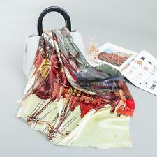 scarf shawl wrap stole 100% silk new 52cmx52cm