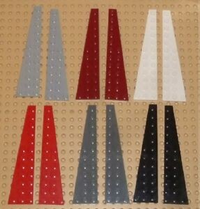 LEGO - WEDGE PLATE 12 x 3 Left & Right, Choose Colour & Qty (47397 & 47398) PW4