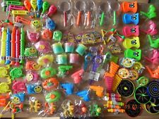 100 Small Assorted Unisex Party Bag Fillers/Lucky Dip Prizes / Pocket Money Toys