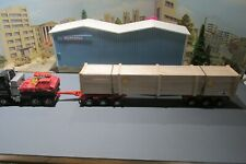 1.50 SCALE HANDCRAFTED LARGE EXPORT CRATE FOR THE HEAVY HAULAGE INDUSTRY.