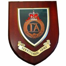 TA Territorial Army Military Shield Wall Plaque