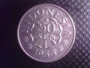 INDONESIA    50 SEN   1955      OCT18