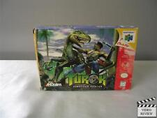 Turok: Dinosaur Hunter (Nintendo 64, 1997) No Instructions