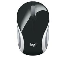 Logitech M187 Wireless Ultra Portable Mouse - Black / White