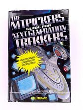The Nitpicker's Guide for Next Generation Trekkers by Phil Farrand HARDCOVER