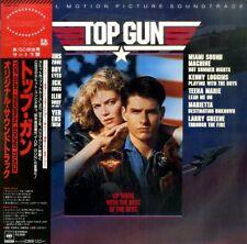 OST KENNY LOGGINS TOP GUN CBS/SONY 28AP 3210 JAPAN OBI SHRINK VINYL LP 1986 EX