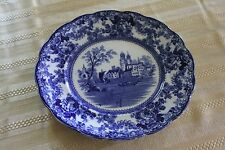 """English Flow Blue F. Winkle & Co. """"Togo"""" Plate"""