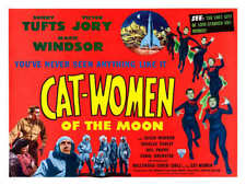 1953 CAT WOMEN OF THE MOON VINTAGE SCI-FI MOVIE POSTER PRINT STYLE B 36x48 BIG