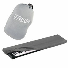 Hqrp Elastic Dust Cover Case & Bag (Gray) for Williams Legato Allegro 2 Keyboard