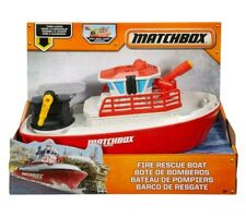 Matchbox Search & Rescue Fire Rescue Boat W/Working Water Canon - DWR21 [G1]