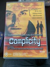 Complicity region 4 DVD (2000 drama / thriller movie) RARE