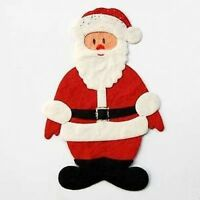 3 FATHER CHRISTMAS DIE CUTS FOR CARDS/CRAFTS