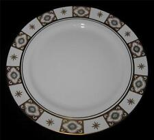 Aynsley BELMONT 129 Dinner Plate, Blue Flowers, Gold Sections