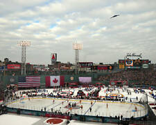 WINTER CLASSIC 2010 Fenway Anthem Fly Over 8x10 Photo