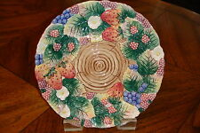 Fitz And Floyd Decorative Plate Never Used-Displayed Rarely In Mint Condition