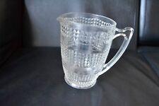 Vintage Glass Pot Large Juice Mug Jug