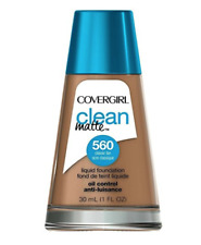 COVERGIRL Clean Oil Control Liquid Foundation Classic Tan 560 1.0 Ounce Bottle
