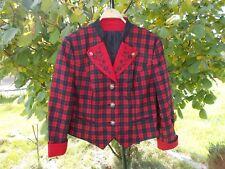 Femmes costumes robe rouge nature à Carreaux Taille 50 V marteau Schmid