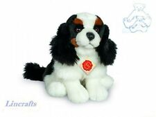 Sitting King Charles Spaniel Plush Soft Toy by Teddy Hermann Collection. 91918