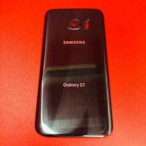 ORIGINAL Replacement Back Glass Cover Samsung S7 G930 BLACK Camera Lens OEM A
