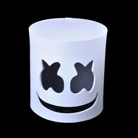 AU Marshmello Mask Cosplay Costume Accessory Helmet for Halloween Party Props