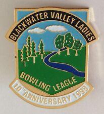 Blackwater Valley Ladies Bowling League Club Badge 1998 Anniversary Rare (K10)