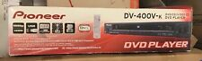 New Pioneer Dv-400V Dvd Player