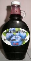 Homemade BLUEBERRY Pancake & Waffle Syrup, 8 oz., All Natural, FREE SHIPPING