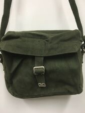 BRITISH ARMY SIGNALS SATCHEL RADIO BAG 1937 PATTERN WEBBING [35601] GREEN, NEW