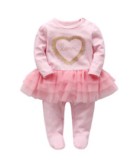 "New 22"" Reborn Doll Clothes Newborn Baby Pink cute kids birthday gifts 2017"