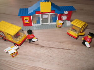 LEGO LEGOLAND 6362 Postamt Post-Office und 6651 Postauto von 1982