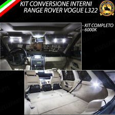 KIT FULL LED INTERNI RANGE ROVER VOGUE L322 CONVERSIONE COMPLETA 6000K CANBUS