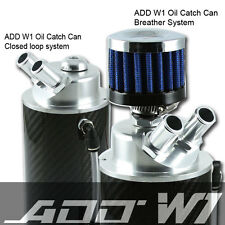 ADD W1 CARBON FIBER OIL Catch Can Tank- REAL Carbon Fiber