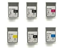 6 NEW Compatible Canon ipf 500 510 600 605 700 710 720 PFI-102 INK cartridges