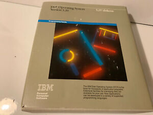 "IBM DISK OPERATING SYSTEM DOS V3,20 5.25"" DISKETTES 6280057 RARE LAST ONE"