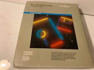 "IBM DISK OPERATING SYSTEM DOS V3,20 5.25"" DISKETTES 6280057 RARE LAST ONE"