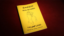 Read Between the Lines by Gazzo from Murphy Magic - Book