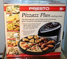 Presto 03430 Pizzazz Plus Rotating Oven Kitchen Cooker Pizza Baking Countertop