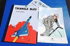 Le Triangle Bleu. Ed. Loup 2004. Tirage limité avec dos toilé bleu 1/30 ex.