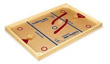Carrom Nok Hockey Game Set Arcade Table Games Pucks Sticks Puck Home Kids Family