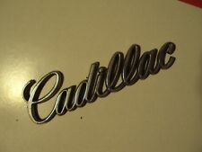 1983 -1992 Cadillac SedandeVille Script Says Cadillac OEM Original Factory