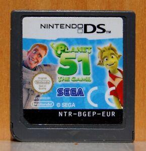 Planet 51 The Set - Nintendo DS - Version Spain - Cartridge