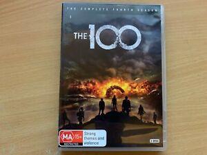 The 100 Season 4 Fourth Series Four Eliza Taylor Bob Morley (DVD 2017 3-Disc) R4