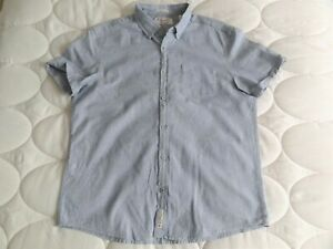 Mens Penguin Shirt Slim Fit Size L Worn Once