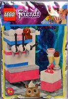 Lego Friends Promo Polybag Ice Cream Parlor Eisdiele Eismaschine NEU NEW RAR