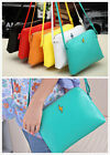 Women Korean Cross Candy Handbag PU Leather Shoulder bag Messenger Hobo
