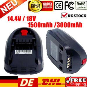 14,4V 18V Für Bosch PSR 18 Li-2 PSB 18 Li-2 PST 2607336207 2607336039 3.0Ah Akku