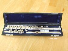 Muramatsu ST closed-hole flute with C-foot (no split E). Excellent condition.