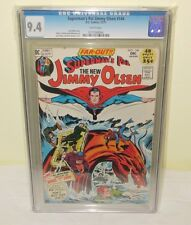 Superman's Pal Jimmy Olsen #144 CGC 9.4 NM WHITE Pages