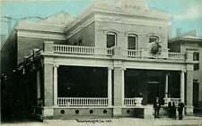 Postcard Elks Club, Davenport, Iowa - used in 1910
